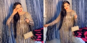 Your new plastic surgery makes you look bloated and pregnant – Fans react to Bobrisky's new video